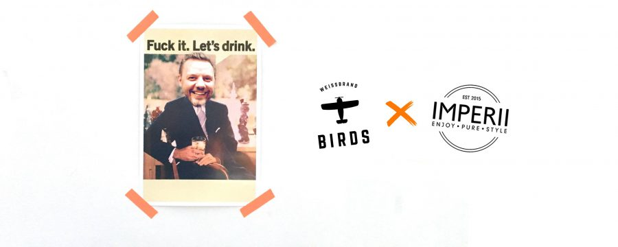 Birds – Weissbrand Masterclass & Guestbartending by Jürgen Wiese